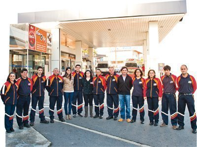 Equipo Gasolinera Bazarra