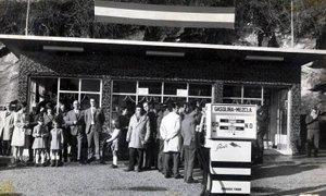 Inauguración Gasolinera Bazarra